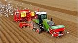 A day of potato planting 405HP Fendt 940MT vario &amp 8-row Grimme GL860 L.B. van Nieuwenhuijzen