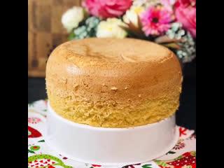 Пышный бисквит в умной мультиварке redmond, рецепт от блогера @katerina_gourmet