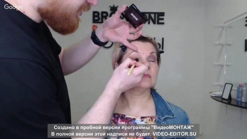 4 Школа макияжа РЫЖАЯ БОРОДА Лифтинг 01