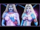Queen Azshara World of Warcraft Cosplay Body Paint Djarii MUA