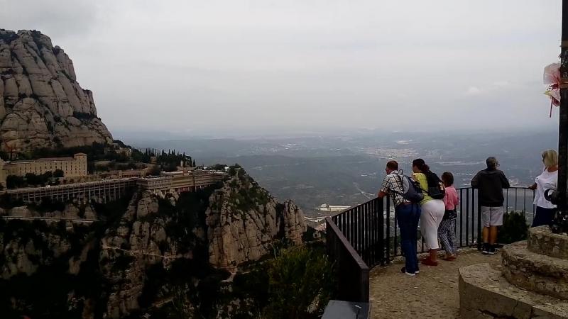 Смотровая площадка Монтсеррат (Испания) 2018