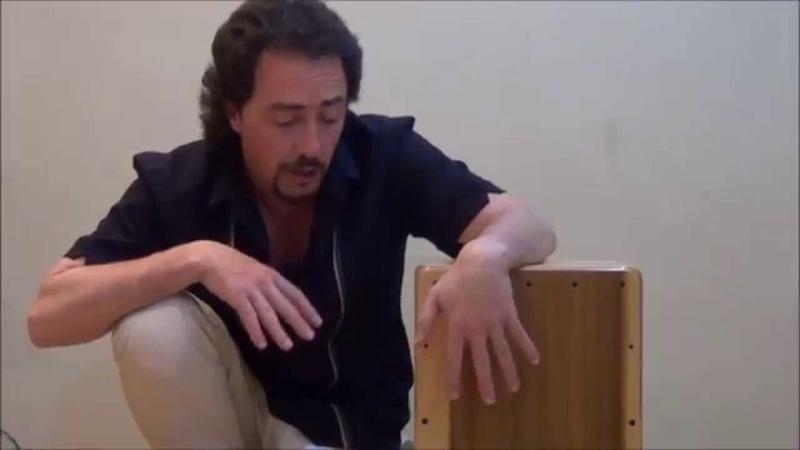 Clases cajón Flamenco. 8ª. Manoteo y dobles.