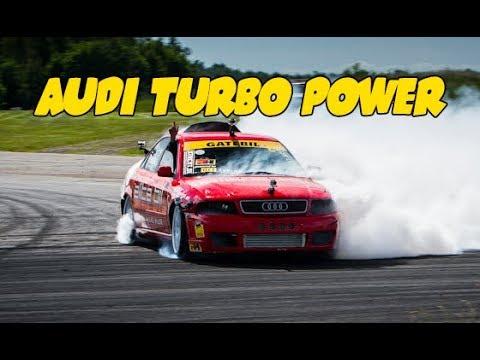 QUATTRO Audi Power. BEST OF TURBO Drift