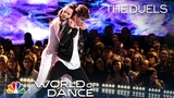 Jennifer Lopez Falls for Josh &amp Taylor's Duels Performance - World of Dance 2018 The Duels
