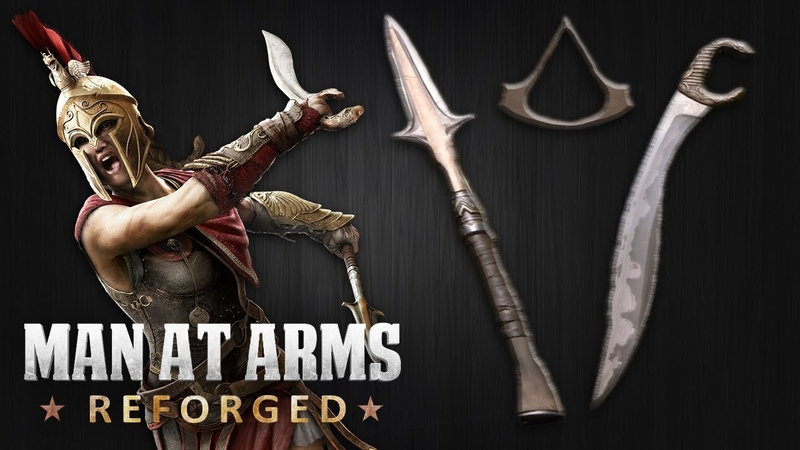 Spear of Leonidas Kopis – Assassin's Creed: Odyssey – MAN AT ARMS: REFORGED