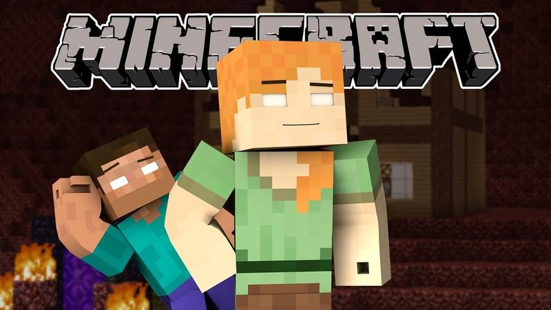 If Herobrine Alex Existed - Minecraft