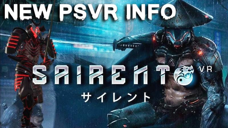 Sairento VR (PSVR) | New info, release window trailer
