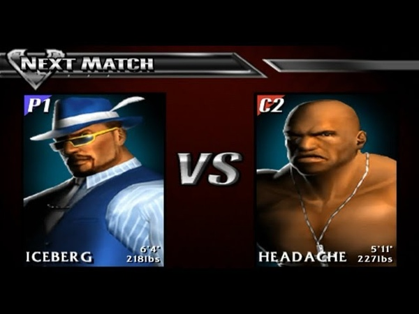 Def Jam Vendetta 39. Iceberg vs Headache (Sanctuary League)