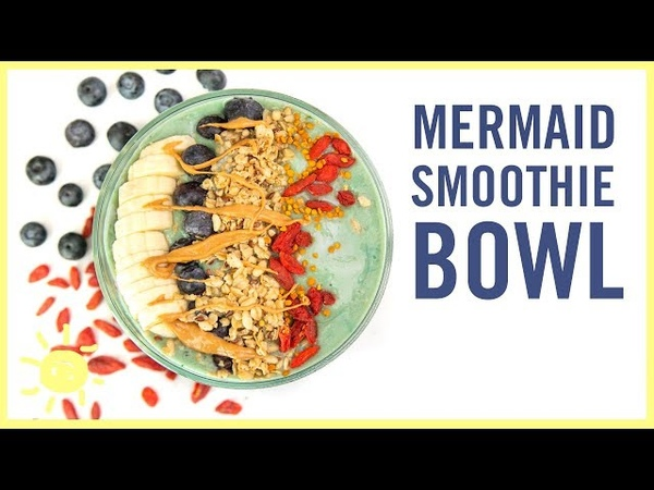 EAT | Mermaid Smoothie Bowl (with Avery!)