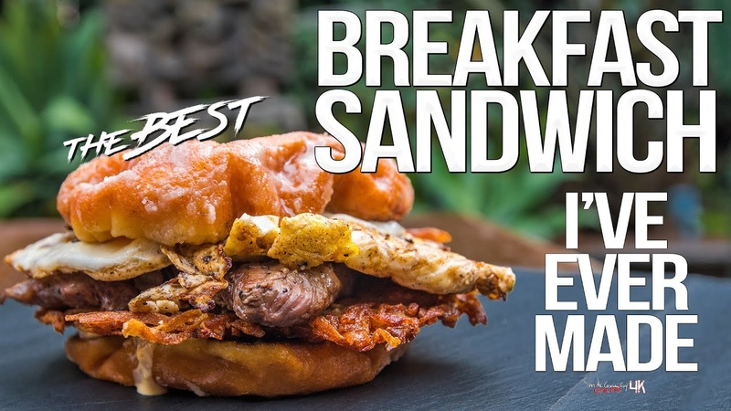 The Best Breakfast Sandwich I've Ever Made   SAM THE COOKING GUY 4K
