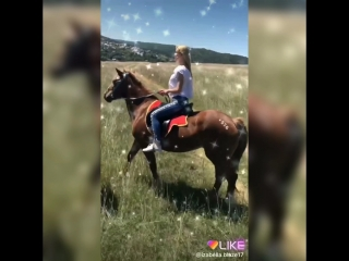 Riding a horse is a lot of fun!)?