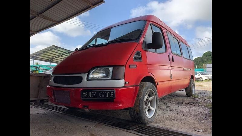Ford Transit   2JZ-GTE