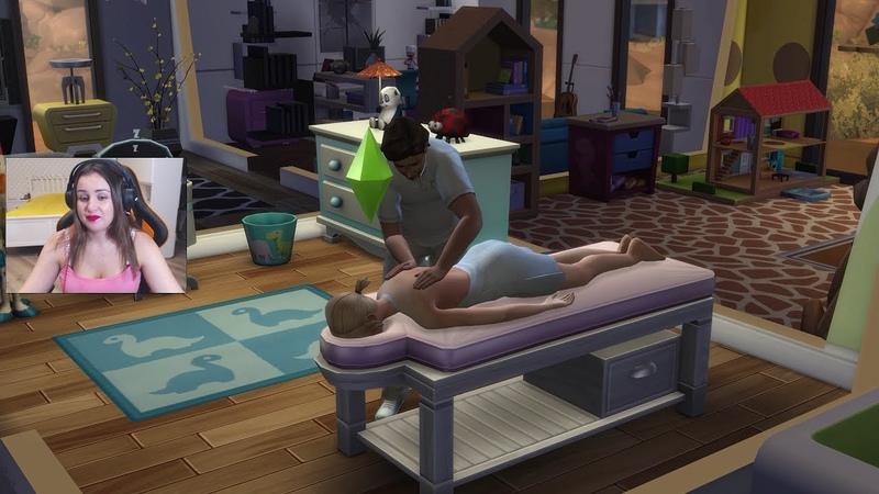 МАССАЖНЫЙ САЛОН ДОМА? 🤣 ► The Sims 4 КОМАРОВЫ