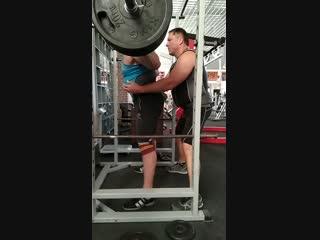 230 кг, слабовато но все ещё впереди 😎💪