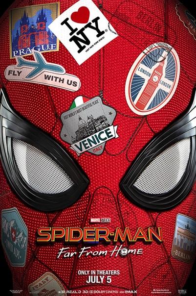 """Том Холланд и Джейк Джилленхол в первом трейлере фильма """"Человек-паук: Возвращение домой"""""""