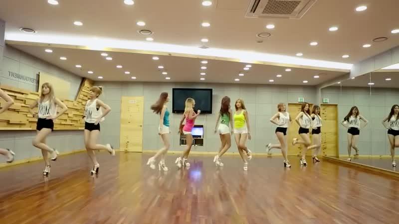 SISTAR (씨스타) - Touch my body Dance Practice Ver. (Mirrored)