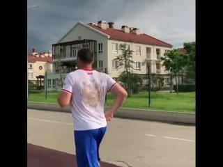 Чемпионская тренировка Григория Дрозда в Сочи.