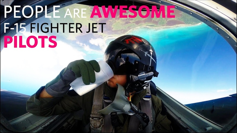People Are Awesome - F-15 Fighter Jet Pilots 2019 - Cockpit View