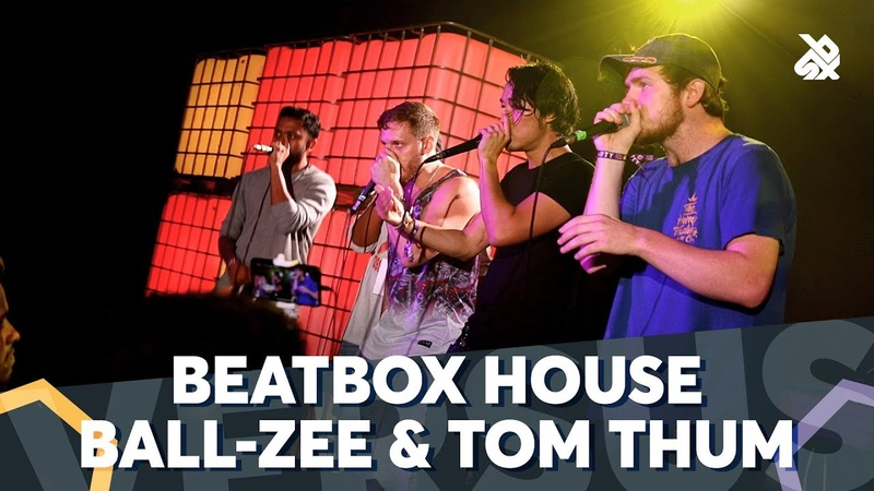 THE BEATBOX HOUSE vs TOM THUM BALL ZEE   Fantasy Battle   World Beatbox Camp 2018