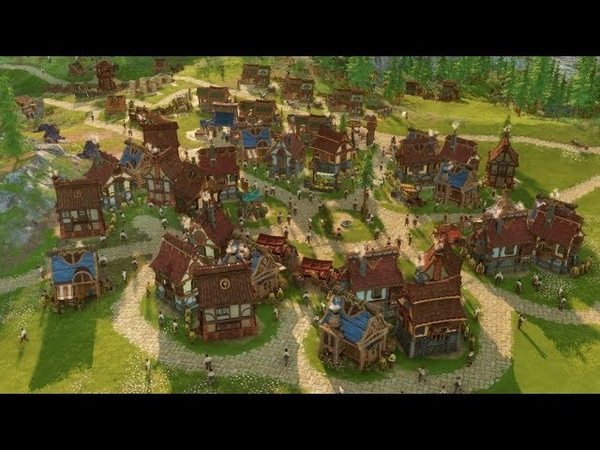 THE SETTLERS - Pre Alpha Gameplay Trailer - New Civilization City Building Game 2019