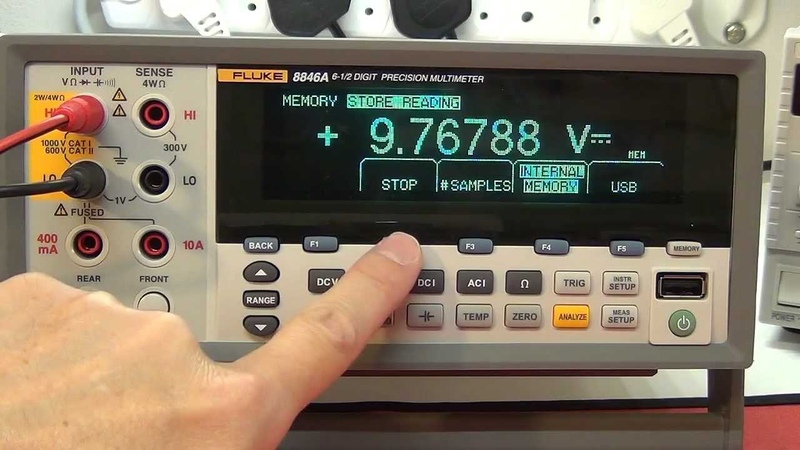 Multimeter Review buyers guide Fluke 8846A 8845A 6.5 Digit Precision Multimeter