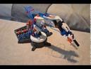 Hydraulic Robot Arm Assembly - Timelapse