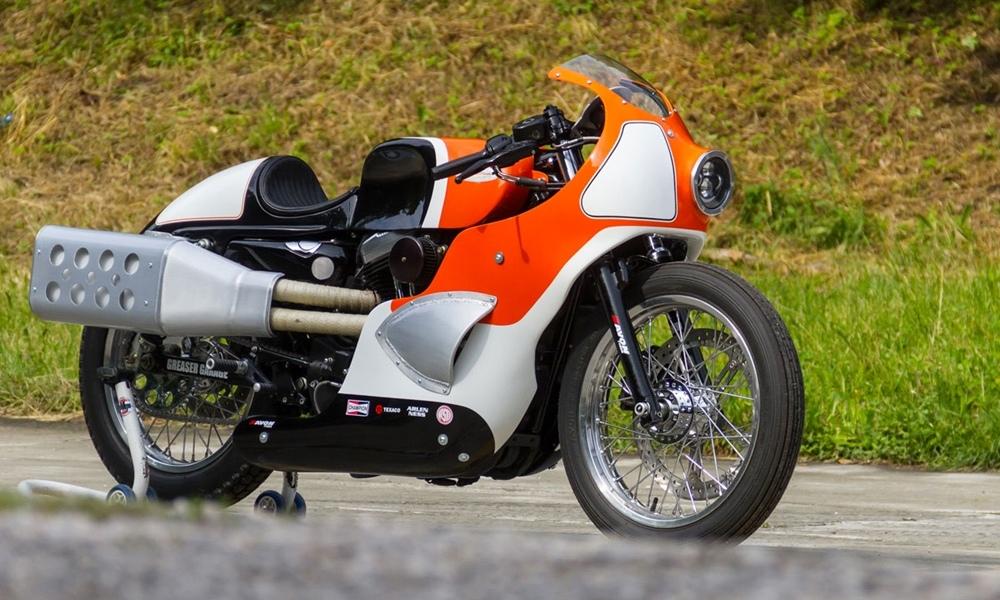 Greaser Garage: кастом Harley Davidson Forty Eight Endurance Racer