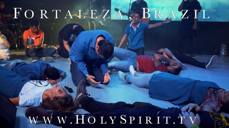 Amazing Visitation of the Holy Spirit in Fortaleza, Brazil!!