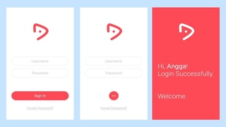 UI Animation Tutorial - Login Screen