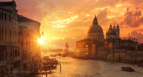Рассвет над Гранд-канал (Венеция)