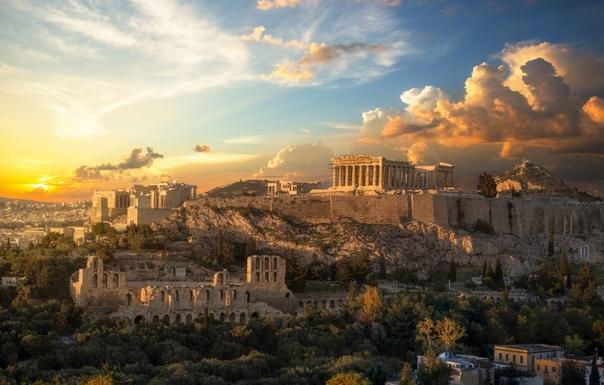 Акрополь на закате (Афины, Греция) Фото: Carsten Bachmeyer