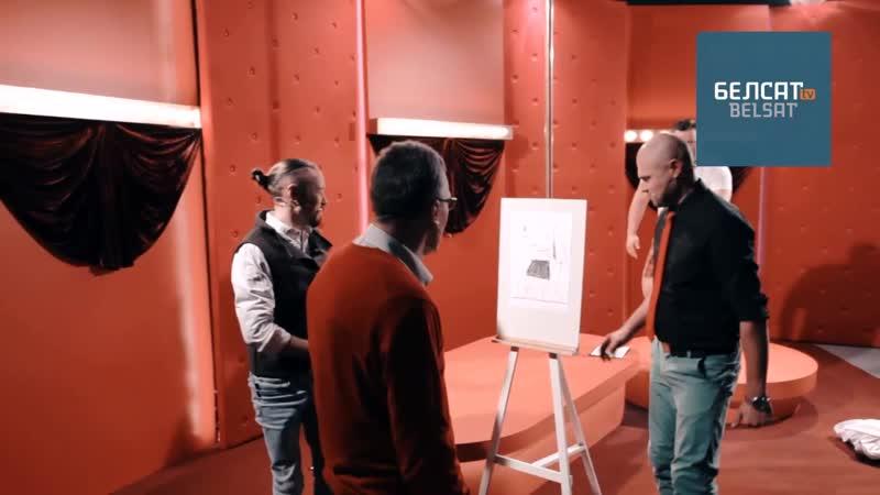 Мастак Адам Глобус, які малюе аголеных жанчын, намаляваў і вядоўцаў «Хай Так TV»