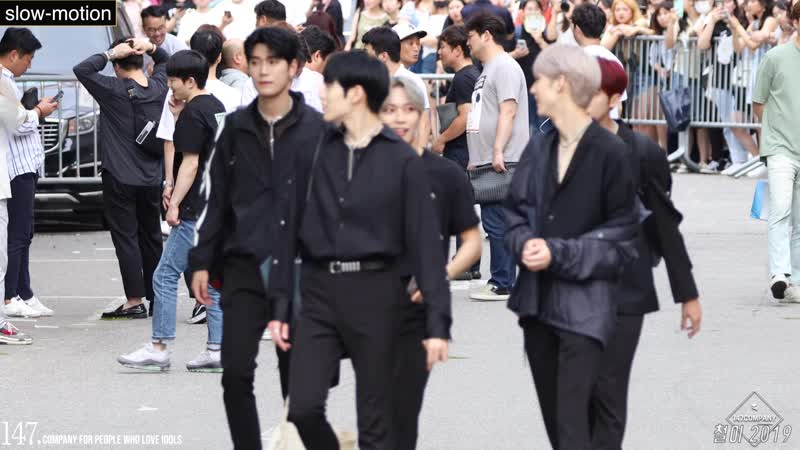 190719 KNK leaving Music Bank