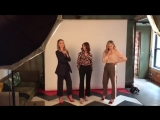 BTS video of Chloë Grace Moretz and the Greta cast doing a photoshoot for the LA Times at TIFF!