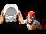 One Punch Man - Saitama Vs Silverfang (Rock Scissors Paper)
