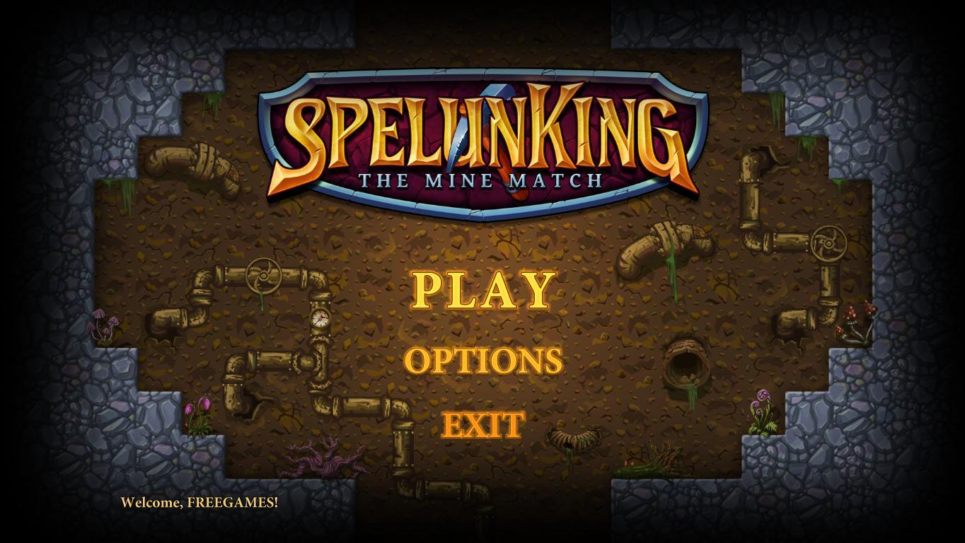 SpelunKing Thу Mine Match (En)