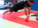 Steve Maxwell Regis Lebre KB Dynamic Plank Hold