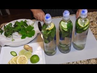 Вода №1 для Похудения, Очищения, ускорения Метаболизма! Вода САССИ