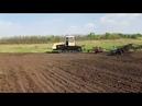 Гусеничный трактор Т-404 Культивация