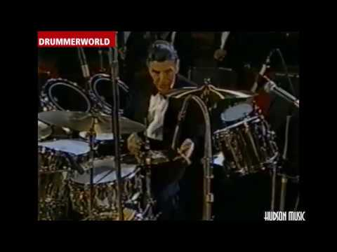 Louie Bellson: DRUM SOLO in Switzerland - 1989