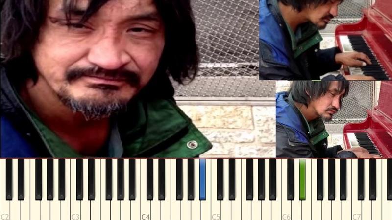 Бомж пианист, взорвал интернет! YouTube