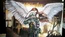 Speedpaint Солдат и Ангел-хранитель (гуашь)