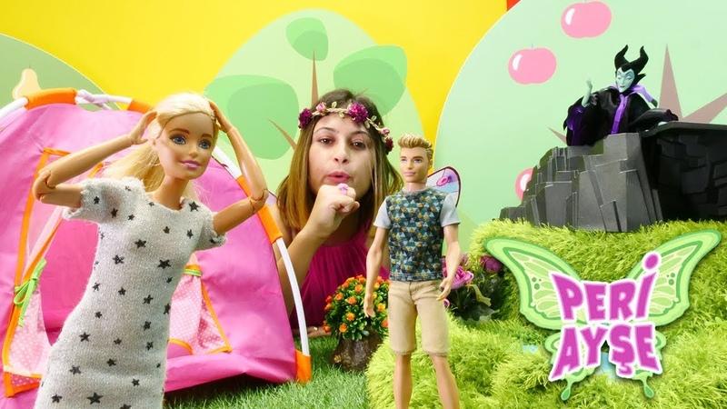 Peri Ayşe. Malefiz Kene sihir yaptı! Barbie oyunu