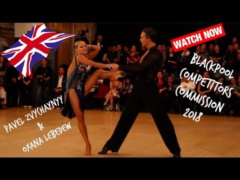 PAVEL ZVYCHAYNYY OXANA LEBEDEW BLACKPOOL 2018 COMPETITORS COMMISSION
