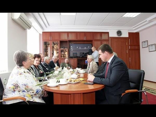 Федор Бабенков за круглым столом встретился с почетными гражданами Темрюкского района
