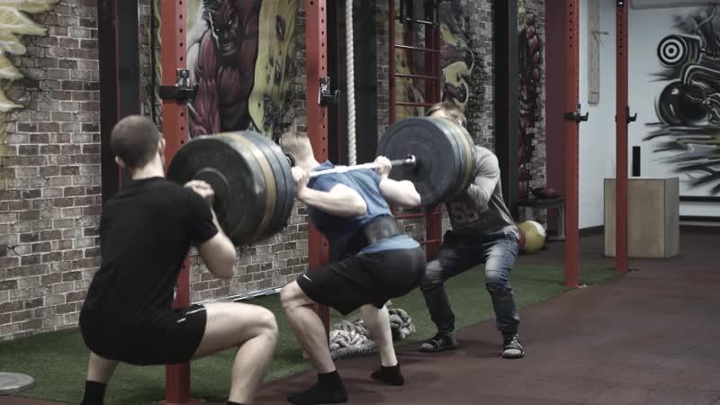 Powerlifting training 5 присесть 150 становая в классике 180