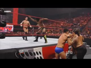 Wh | kofi kingston world tag team with cm punk vs. ted dibase and cody rhodes raw 27.10.08