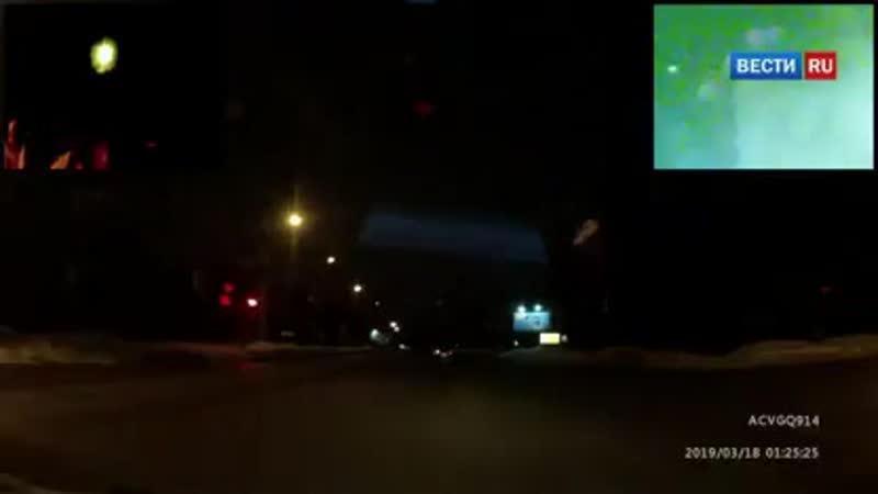 ВестиRu В Коми водитель без прав устроил смертельное ДТП, уходя от погони