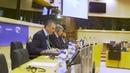 Javier Ortega Smith en el Parlamento Europeo Cataluña es España