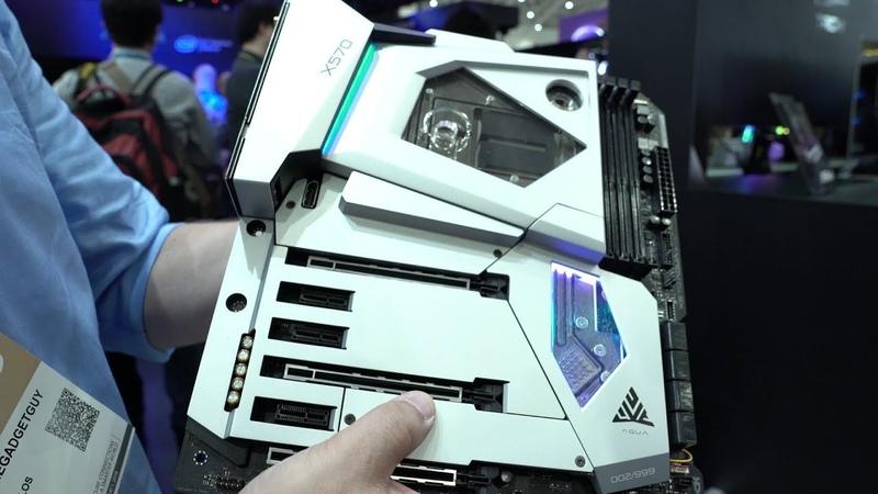 ASRock at Computex 2019 Navi builds, x570 Motherboards, and the x570 Aqua
